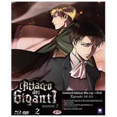 Attacco Dei Giganti (L') - Stagione 02 #02 (Eps 05-08) (Ldt Ed) (Blu-Ray+Dvd)