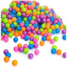 50 Palline Colorate Ø5,5cm Di Diametro Palline Di Plastica Gioco Per Bambini Prima Infan