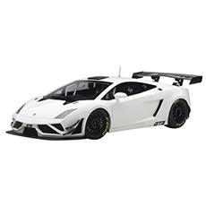 Aa81358 Lamborghini Gallardo Gt3 Fl2 2013 Bianco 1:18 Modellino