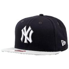 Cappellino Tream Jearsy Ny Yankees S-m Blu Bianco