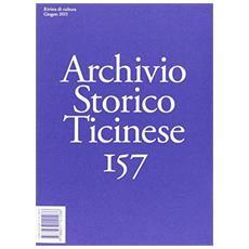 Vol. 157: Il Ticino dagli anni Ottanta a oggi. Cambiamenti e prospettive.