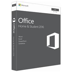 Office Home Student 2016 Medialess per Mac 1 Licenza (Inglese)