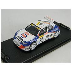 Cpg206 Peugeot 306 Monte Carlo 1998 1/43 Modellino