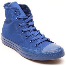 Scarpe Hi Canvas Monocromatiche 39 Blu