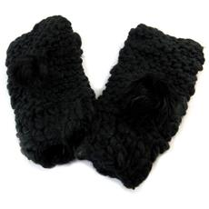 guanti maglia '' neri - [ n7377]