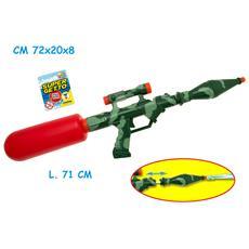 Supergetto Pistola Ad Acqua Militare (72x20x8 Cm)