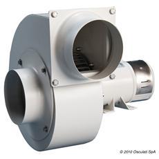 Aspiratore centrifugo acc. 24 V 0,55 KW 28 A RD