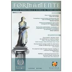 Formamente. Rivista internazionale sul futuro digitale (2011) vol. 3-4