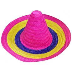 cappello sombrero piccolo cm 50 multicolore