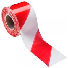 Nastro Segnaletico Bianco Rosso 200mt