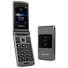 """SC700 Dual Sim Display 2,4 """" + Slot MicroSD Fotocamera 3 Mpx Colore Titanio - Europa"""
