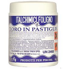 Cloro In Pastiglie Da 200 Gr. - 1 Kg