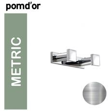 Metric 383002 Appendiabiti Doppio, Cromo