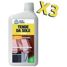 Detergente Tende Da Sole 1l, Kit Da 3 Latte Per La Pulizia Di Teli In Tessuto