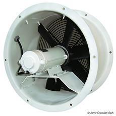 Aspiratore assiale acciaio 24 V 0,3 KW 11 A FA