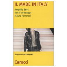 Il made in Italy. Natura, settori e problemi
