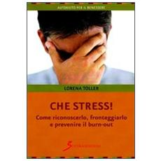Che stress. Come riconoscerlo, fronteggiarlo e prevenire il burn-out