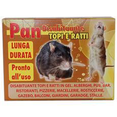 Disabituante repellente allontana anti topi ratti gel (resiste all'acqua) 500 gr