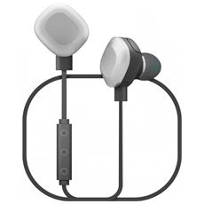 WiShake Auricolari Bluetooth Waterproof colore Nero / Argento