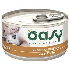 Wet Cat Mousse Con Pollo Lattina 85gr
