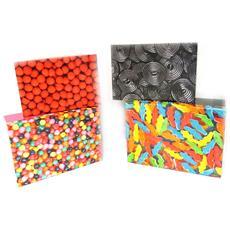 set di 4 scatole di stoccaggio '' multicolori - [ l8807]
