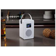 Radio Digitale Dab Play R1 - Bt50a White - Wifi Spotify Internet Radio