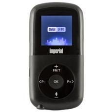 Imperial Dabman 1, 3,5 mm, Polimeri di litio (LiPo) , Personale, LCD, Digitale, DAB+, FM