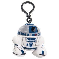 Star Wars - Portachiavi Peluche R2-D2 8 Cm
