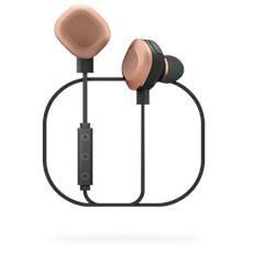 WiShake Auricolari Bluetooth Waterproof colore Nero / Rame
