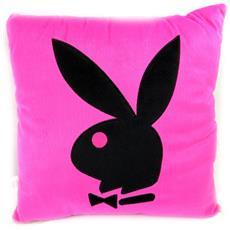 cuscino deco 'playboy' rosa nera - [ l4162]