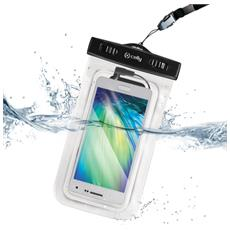 """Bag Waterproof 6"""" con Jack 3.5mm - Colore Trasparente"""