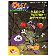 Oggy E I Maledetti Scarafaggi - Albo Con Sticker - Maledetti Scarafaggi Appiccicosi