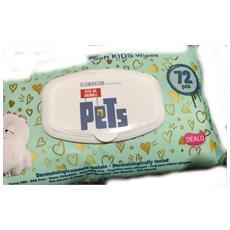 Salviettine Per Cani E Gatti Profumate 72 Pz