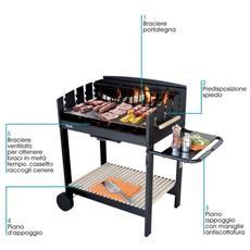 Barbecue Carbonella Apollo 80 Sunday