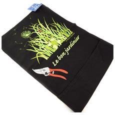 grembiule 'french touch' 'le bon jardinier' nero - [ k6227]