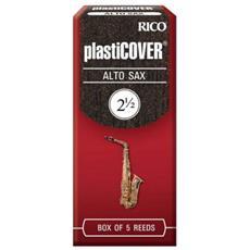 Ance Rico Plasticover Per Sax Alto Misura 2,5 Confezione 5 Ance