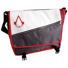 Assassin's Creed - Core Crest Logo Grey (borsa Tracolla)