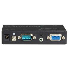 AVX-VGA-TP-CSRX, RS-232, 100-240V, 50/60 Hz, 18W, 108 x 86 x 23 mm, 300g