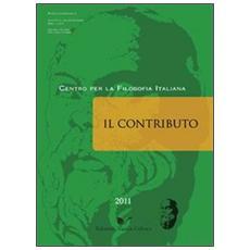 Il contributo (2011) vol. 2-3