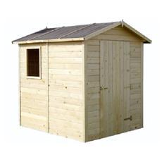 Casetta in legno ricovero porta attrezzi 168x210x216