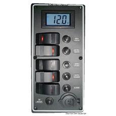 Pannello elettrico PCAL voltmetro digitale 9/32 V