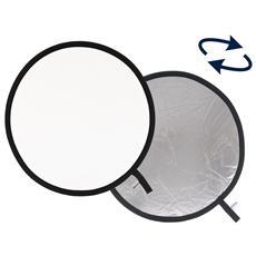 Pannello Riflettente Argento / Bianco Diametro 75cm