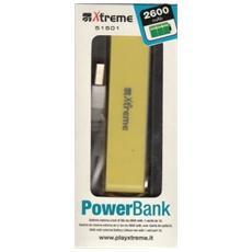 Power Bank 2600 mAh Giallo