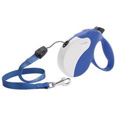 Guinzaglio Ferplast Amigo S Cord Blu-bianco
