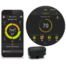 Curfer Analizzatore per Automobile con connessione Bluetooth e Trova Auto - Nero
