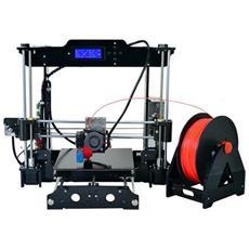 Stampante 3D Prusa I3 in KIT di Montaggio 2 Kg filo PLA e ABS SD Card 8 GB Supporto Filamento