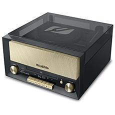 MT-110 B Direct drive audio turntable Nero, Marrone