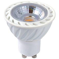 Lampada Faretto Led Gu10 5w Fascio 36° Luce Naturale 4000k 405 Lumen