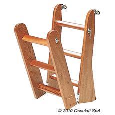 Scaletta legno 4 gradini