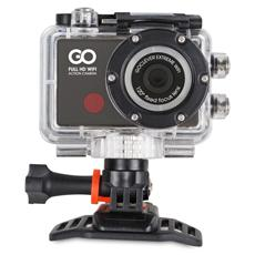 GOCLEVER - Action Cam DVR Extreme WiFi + Kit Accessori Full HD Display 0.7''